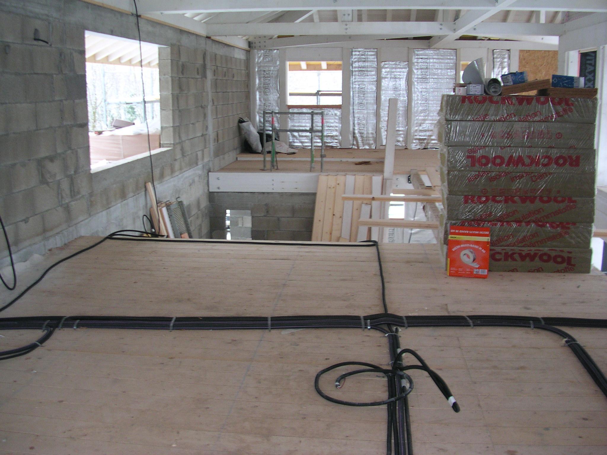 chantier maison electricien lyon - Renovation Installation Electrique Maison