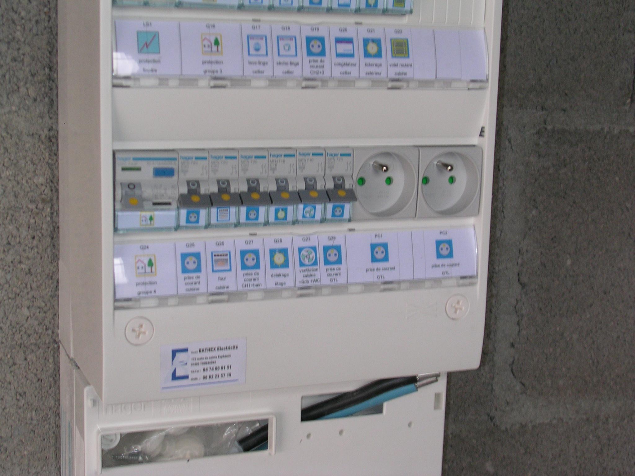 électricien Lyon tableau électrique mise en sécurité