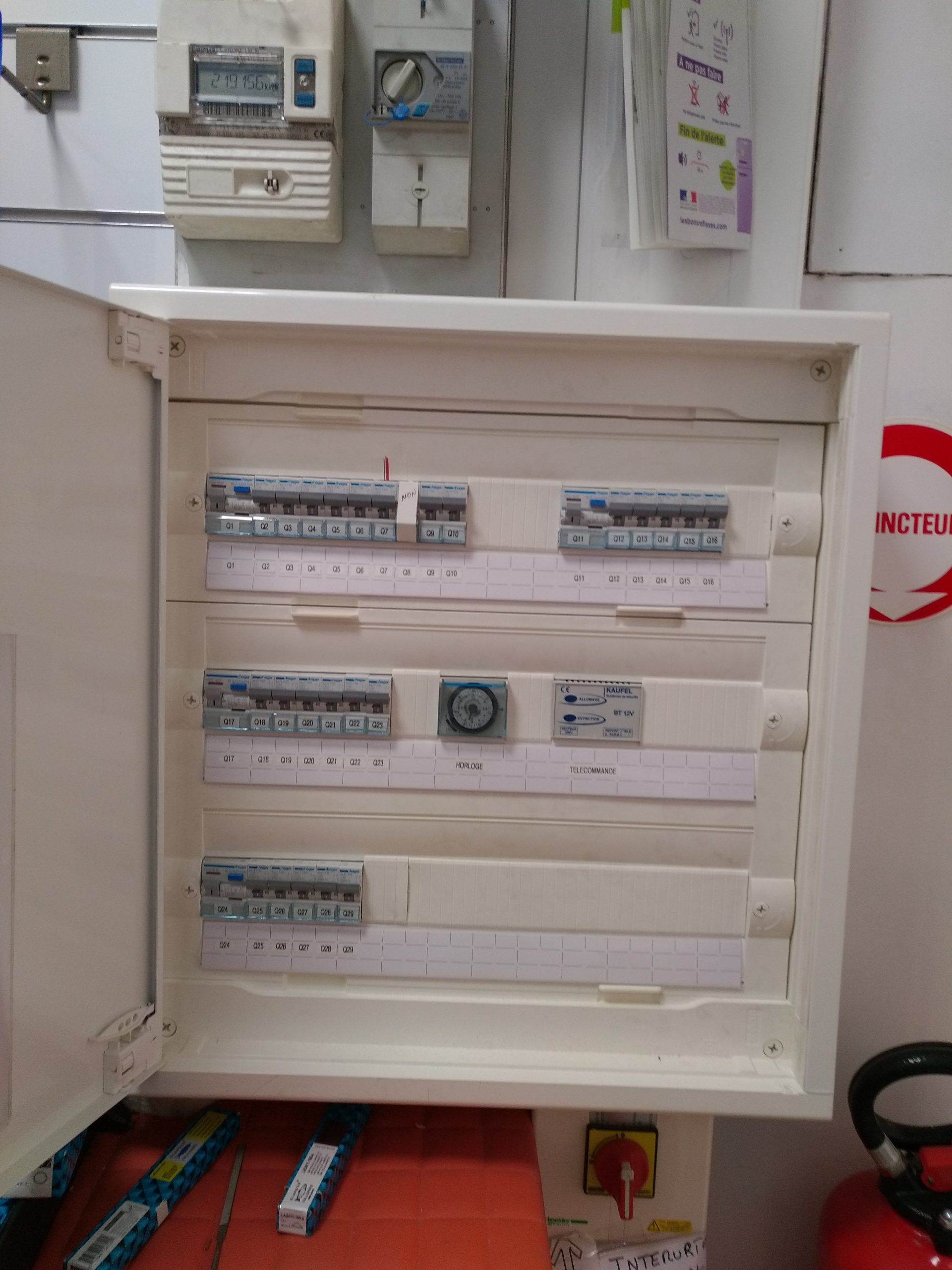 électricien Lyon installation dépannage électricité rénovation tableau électrique après