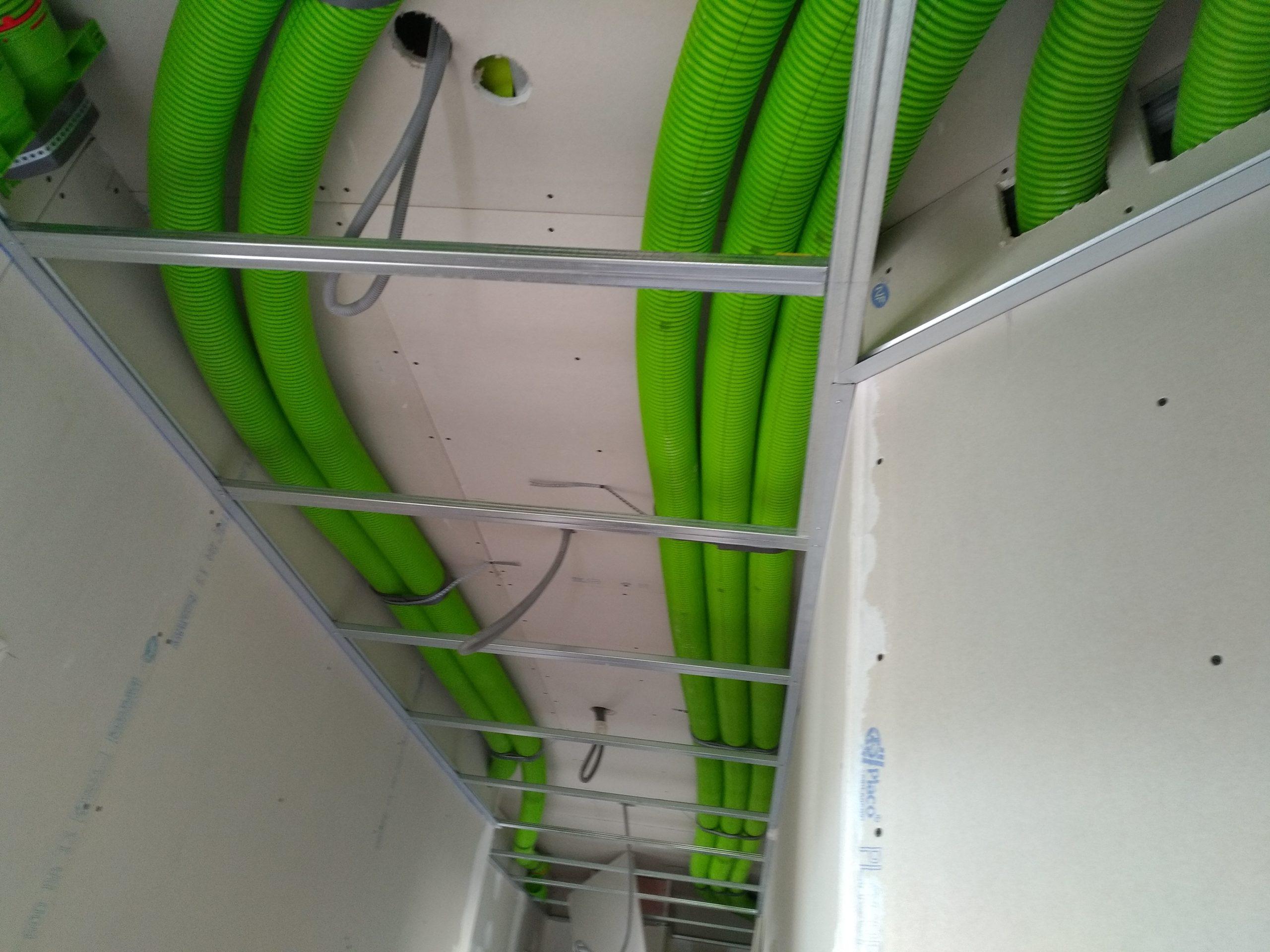 électricien Lyon installation dépannage électricité rénovation VMC double-flux conduits air neuf air vicié
